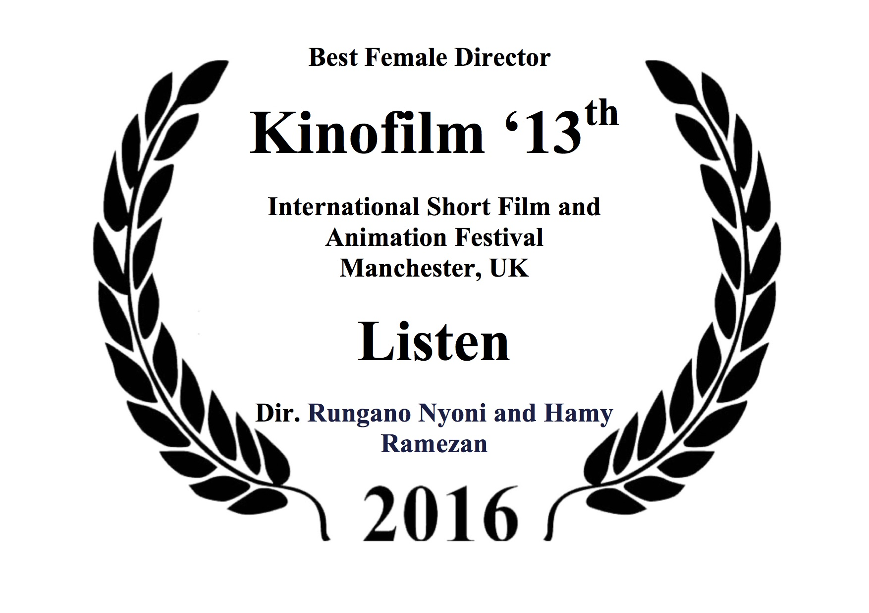 Best Female Director