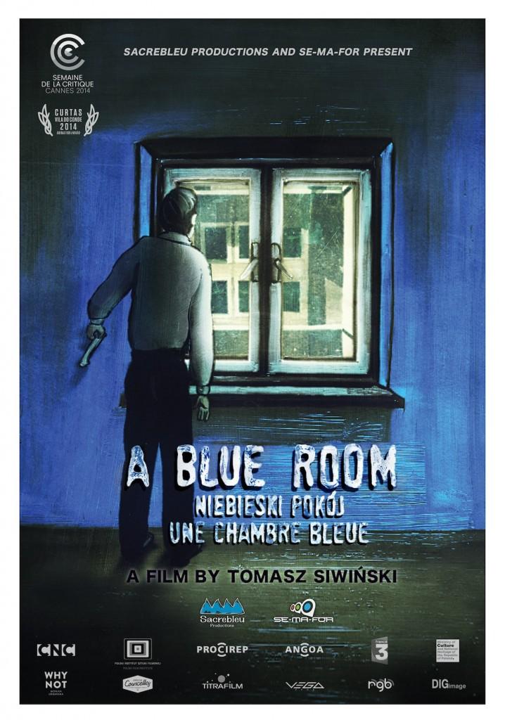 NIEBIESKI POK‡J (Eng. A BLUE ROOM)_POSTER