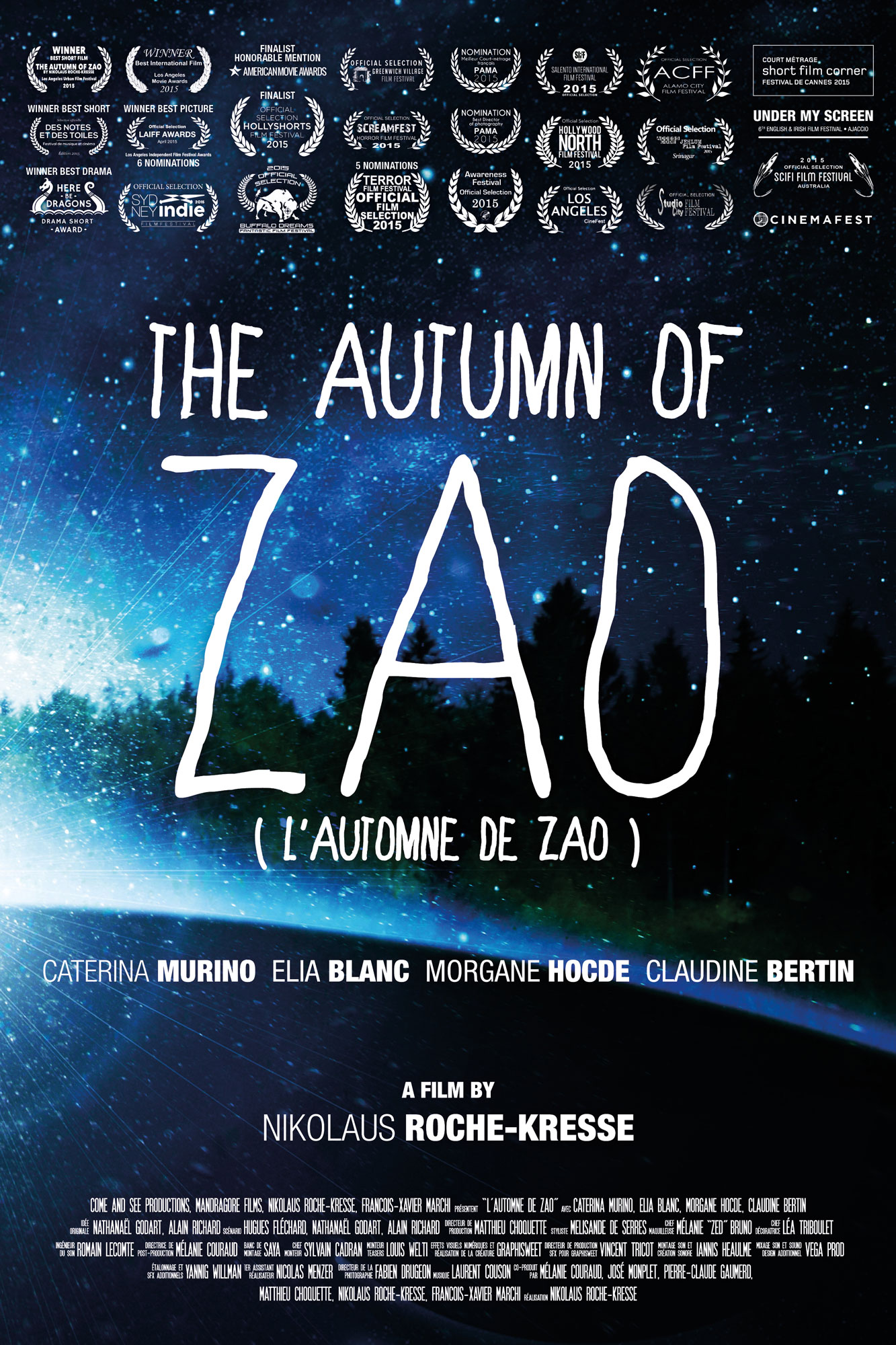 THE AUTUMN OF ZAO poster