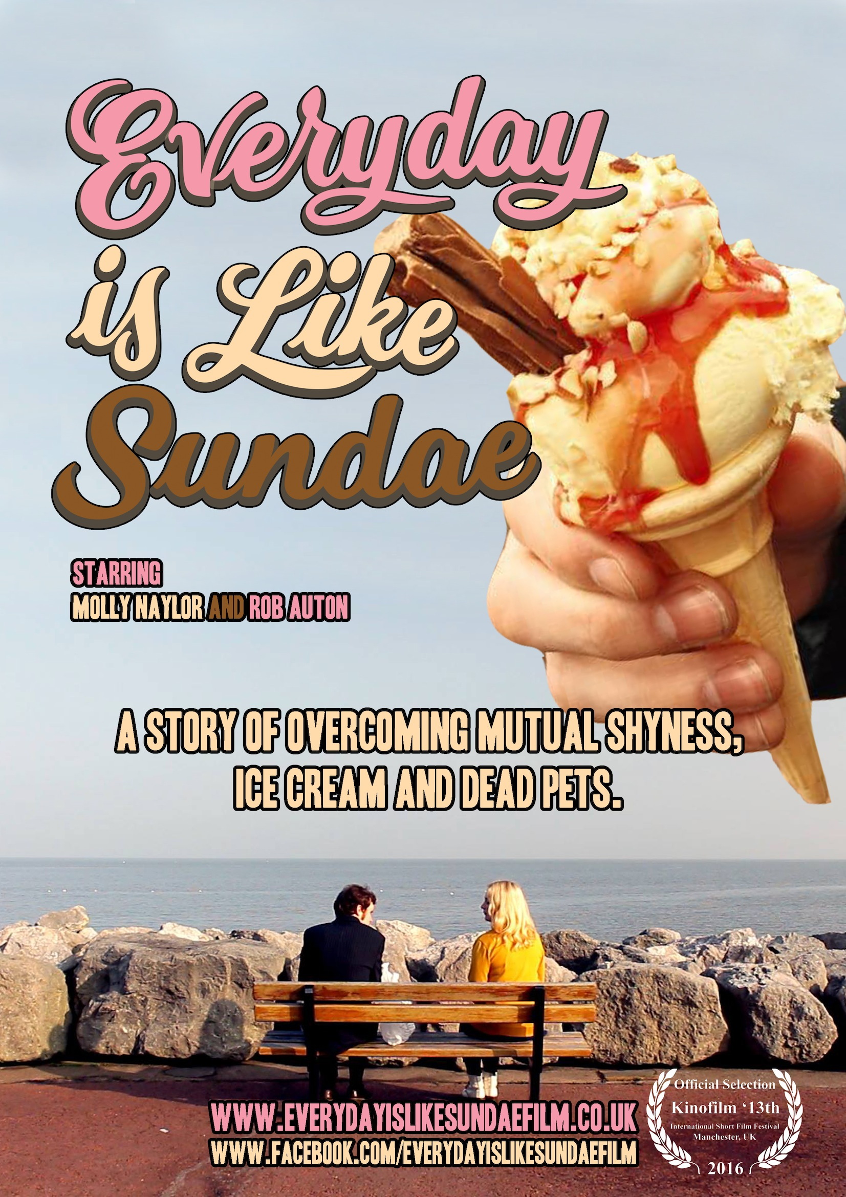 everyday is like sundae - poster